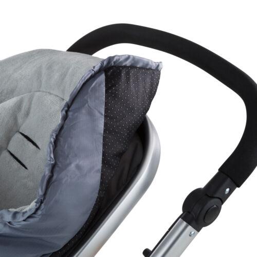 Thermo chancelière bébé pour poussette landaus universelle siège auto