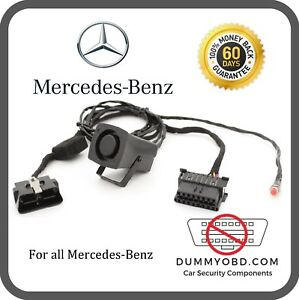 mercedes w212 anti theft protection activated