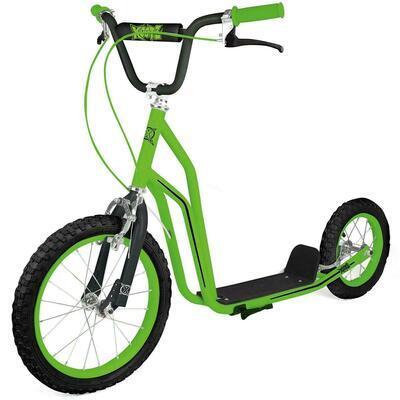 Kids Footplate BMX Stunt Scooter Big Wheel Push Bike Bicycle Girls Boys Gift UK