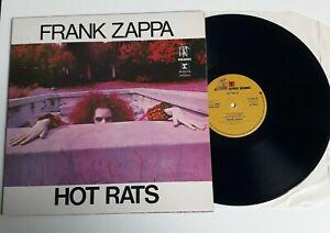 FRANK ZAPPA HOT RATS GATEFOLD VINYL LP REPRISE TAN STEAMBOAT UK 1971