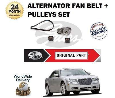 /> Alternador Correa Trapezoidal /& Cuchilla De Cortacésped De Repuesto Para Set Para Chrysler 300C 3.0 TD CRD 2005