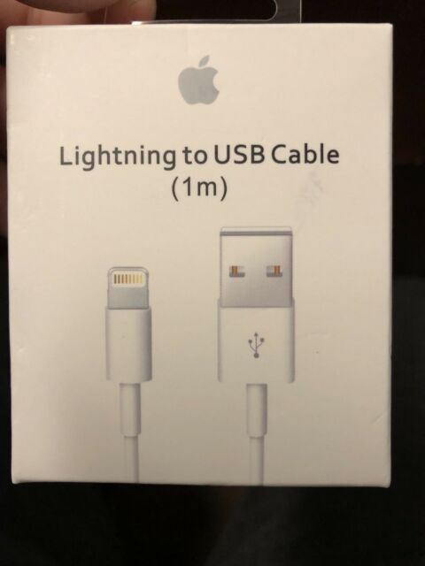 New OEM Original Apple iPhone 7 6S Plus 5 SE Lightning USB Cable Charger 1M/3FT
