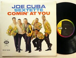 JOE CUBA Sextette Comin at you LP Seeco Venezuela Reissue ...
