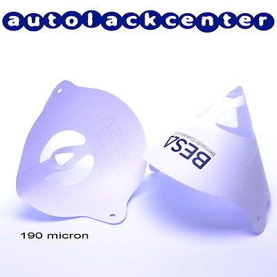 50 Lacksiebe Farbsiebe Lackfilter für Autolack und Füller 190µ /E0035