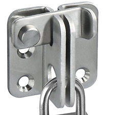 Alise MS3001 Slide Bolt Latch Gate Latches safety Door Lock,Stainless Steel Br..