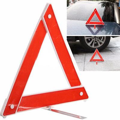 Reflective Warning Sign Foldable Triangle Car Hazard Breakdown EU Emergency CL