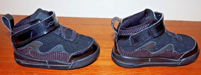 0ffc2e187b4758 Nike Air Jordan Infant TD 6C Kids Flight TR 97 Black Shoe Sneakers TR97 PS  Baby