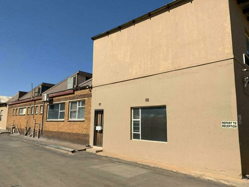 Industrial property available for occupation in Nigel