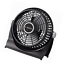 10 Inch Breeze Fan Floor Table Air Circulator Portable Quiet Fan Black