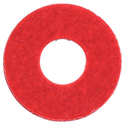 Qty 200 Red Fibre Washer M8 x 17mm x 1mm Metric Sealing Gasket 8mm