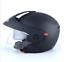 NEW Open Face 3//4 Motorcycle Helmet DOT Racer Dual Visor DOT Approved Free Ship