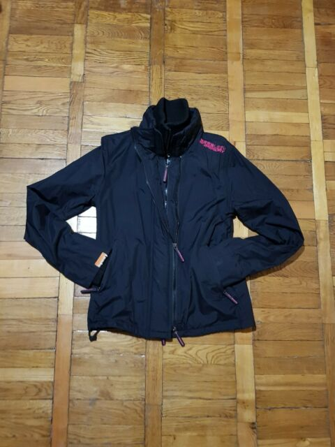 WOMEN'S SUPERDRY HOODED ARCTIC WINDCHEATER JACKET,  SZ M