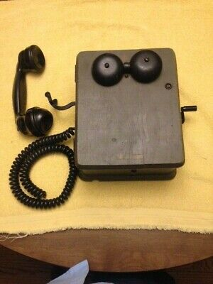 Antique telephone,magneto Crank Handle Western Electric and Kellogg others
