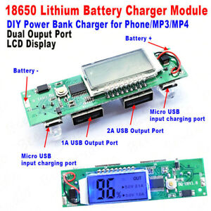 5V-1A-2A-Dual-USB-LCD-all-in-one-Boost-Lithium-ion-Batterie-Charger-Module-Board