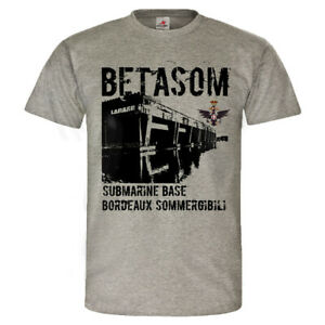 Betasom-U-Boot-Bunker-Regia-Marina-Italiana-Sommergibile-T-Shirt-25872