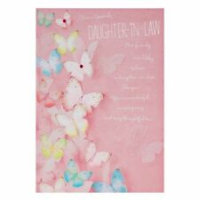 Hallmark Birthday Greeting Card For Daughter In Law Lots Of Love New