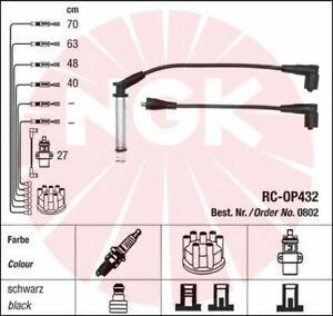 Jeu-de-fil-de-bougie-cable-allumage-NGK-0802-VAUXHALL-CAVALIER-Mk-III-3-5-portes