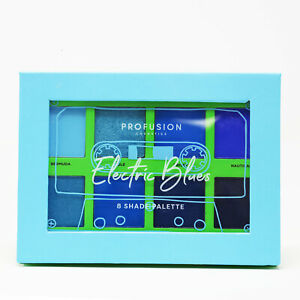 Profusion-Cosmetics-Electric-Blues-Eye-Shadow-8-Shade-Palette-NEW