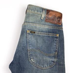 Lee Hommes Zed Slim Jeans Jambe Droite Taille W31 L32 APZ858