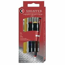 Sheaffer Calligraphy Viewpoint Italic Fountain Pen Set -Yellow - Mini Kit 73403