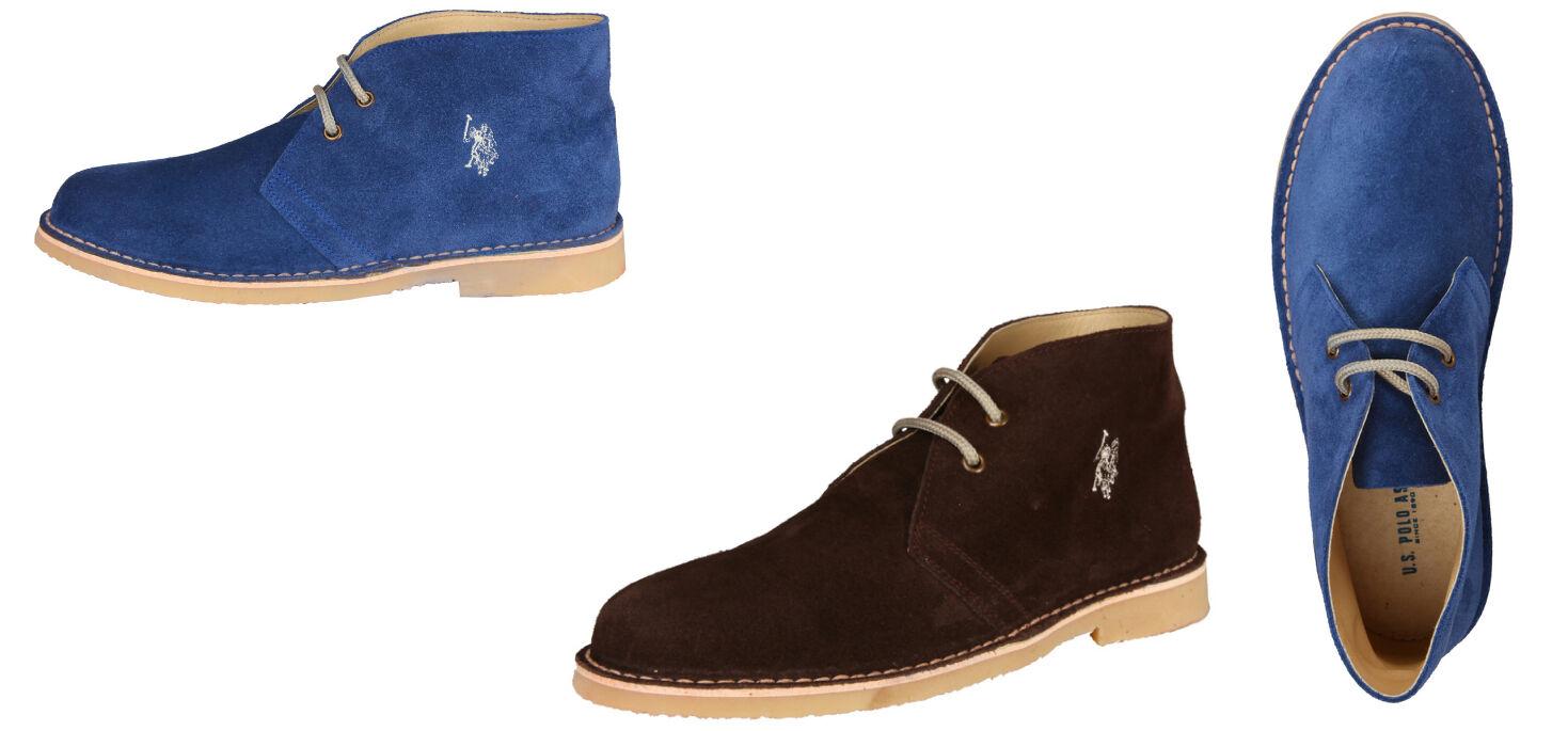 U.S. Polo EVER3339S3 Stiefel Stiefeletten Boots Halbschuhe Schnürer EU 41-44