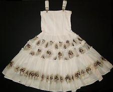 Boutique Jottum Dutch Sascha Sushi suspender dress vintage cameo 140/128 8 9 10
