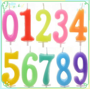 Image Is Loading Digital Birthday Candles Decoration Cute Kids Party Letters