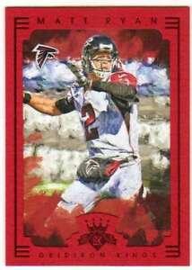 2015-Panini-Gridiron-Kings-Framed-Parallel-Red-Frame-44-Matt-Ryan-Falcons