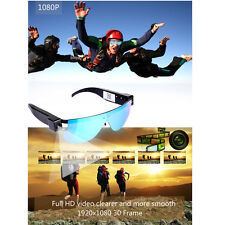 Wireless HD 1080P Camcorder Sports DVR DV Sunglasses Video Cam WIFI IP P2P Cam