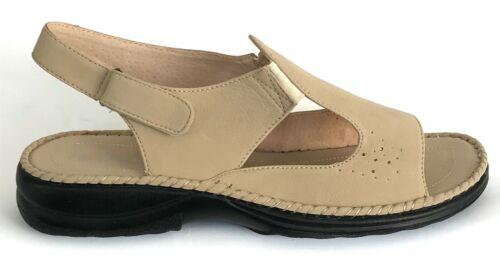 BUY1GET1FREE Women Orthopedic Diabetic Leather Mule Sandal Wedge Shoe Size
