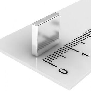 100-STUCK-POWER-NEODYM-QUADER-MAGNET-10x10x2-N52-VERNICKELT-QUADER-PINNWAND-SET