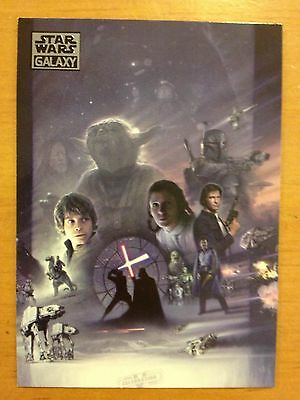 Topps 2012 Star Wars Galaxy Series 7 #59 Legacy of the Empire Art MINT