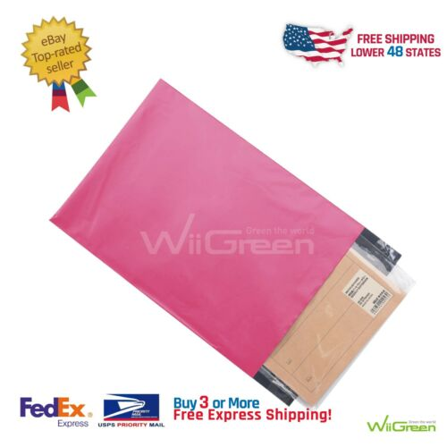 Hot Pink #6 50 PCS 2.0MIL Poly Mailers Shipping Envelopes  Packaging Bags