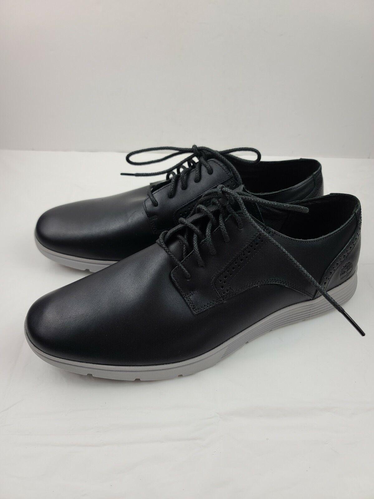 Timberland Franklin Park Ox Lace-Up Sneaker Black Men's Size 12