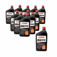 COMP CAMS 1590-12 - Engine Break-In Oil Automotive 10W30 1 Qt. Set of 12