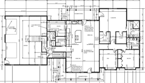 Details about House Plan 2,162 SF RANCH WITH BAT AND BONUS ROOM OVER on ranch home with great room, ranch home with deck, ranch home with 3 bedrooms, ranch home with 3 car garage,