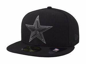 New Era 59Fifty NFL Cap Dallas Cowboys Basic Fitted Hat Black ... d20efb44b4f2
