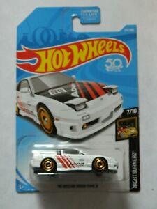 /'96 Nissan 180SX Type X 214//365Brand New Hot Wheels2018 Nightburnerz WW