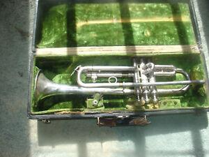 FidèLe Vintage Frank Holton Trompette Sn#72731 (1926) Usa-afficher Le Titre D'origine
