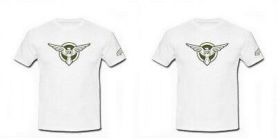 Captain America SSR Shield Cotton Lycra Tee Cosplay Costume White Tshirt S-2XL