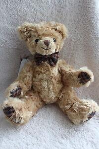 Barbara Bukowski Design Teddybär Kuscheltier groß 33cm Geschenk NEU