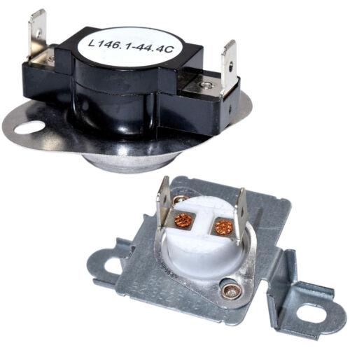 Dryer Thermostat /& Thermal Fuse Kit for Amana NED7300WW0 NED7300WW1 YNED7300WW0