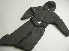 NILS SKIWEAR WOMENS BLACK SKI SNOWMOBILE SUIT SIZE 4 JOINABLE JACKET PANTS