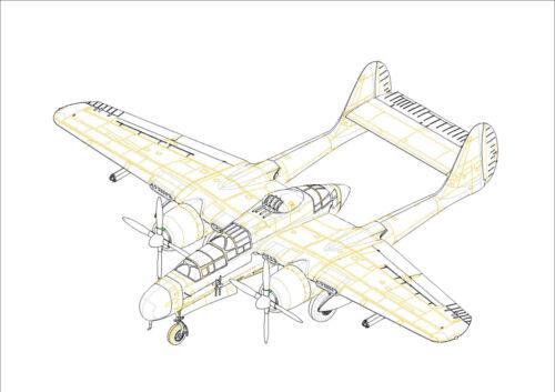 Neu Hobbyboss 87262-1:72 US P-61B Black Widow