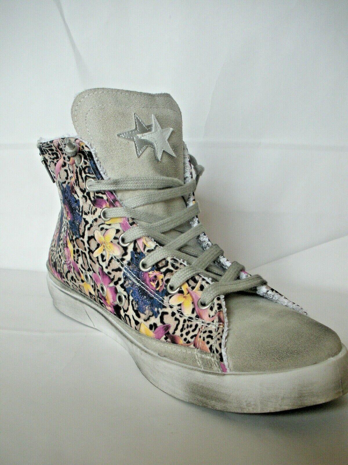 2 Star Sneaker High Flowers 60% Discount Last No. 40