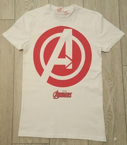 XXL PRIMARK LICENSED MENS MARVEL DC COMICS SUPERHERO T SHIRT TEE TOP UK XS