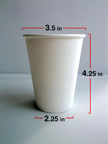 12oz with Lids 100 pack Sleeves and Stirrers Disposable Paper Cups