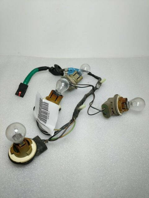 1999-04 Ford Mustang OEM Left Wiring Harness Tail Light ...