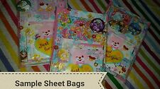 Kawaii Cute 130 Memo Sheet Lot Japan Kamio Qlia Sanrio Free Goodies w/ Purchase