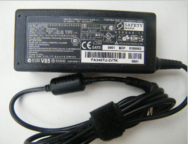 19V 3.42A AC Adapter Charger Power Supply Cord For Toshiba Satellite Laptop.~M